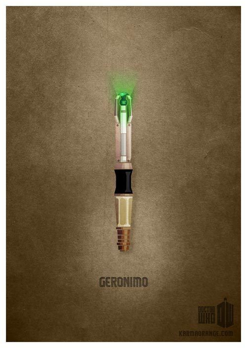 it could be a bit more sonic...: Geek Art, Doctorwho, Sonic Screwdriver, Minimalist Poster, Fans Art, Dr. Who, 11Th Doctors, Doctors Who Tattoo'S, Eleventh Doctors