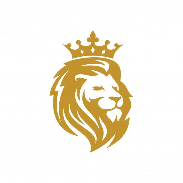 Lion Logo Vector Template Premium Vector Premium Vector Freepik Vector Logo Gold Icon Template In 2020 Lion Painting Art Logo Lion Art