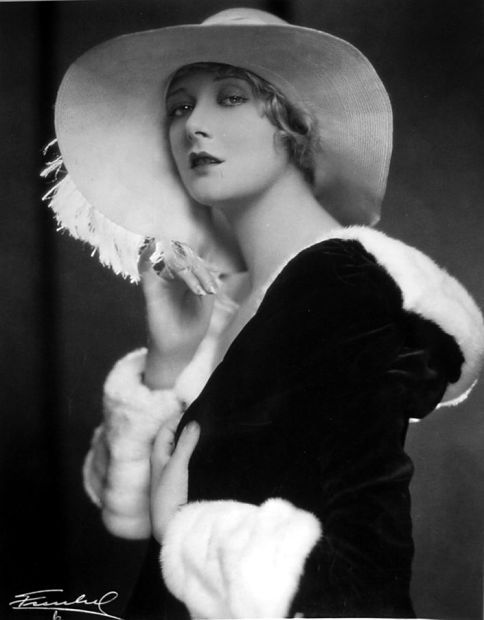 Silent film star Mary Nolan, 1928