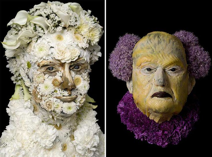 If Giuseppe Arcimboldo were alive now, he might make portraits of Hillary…