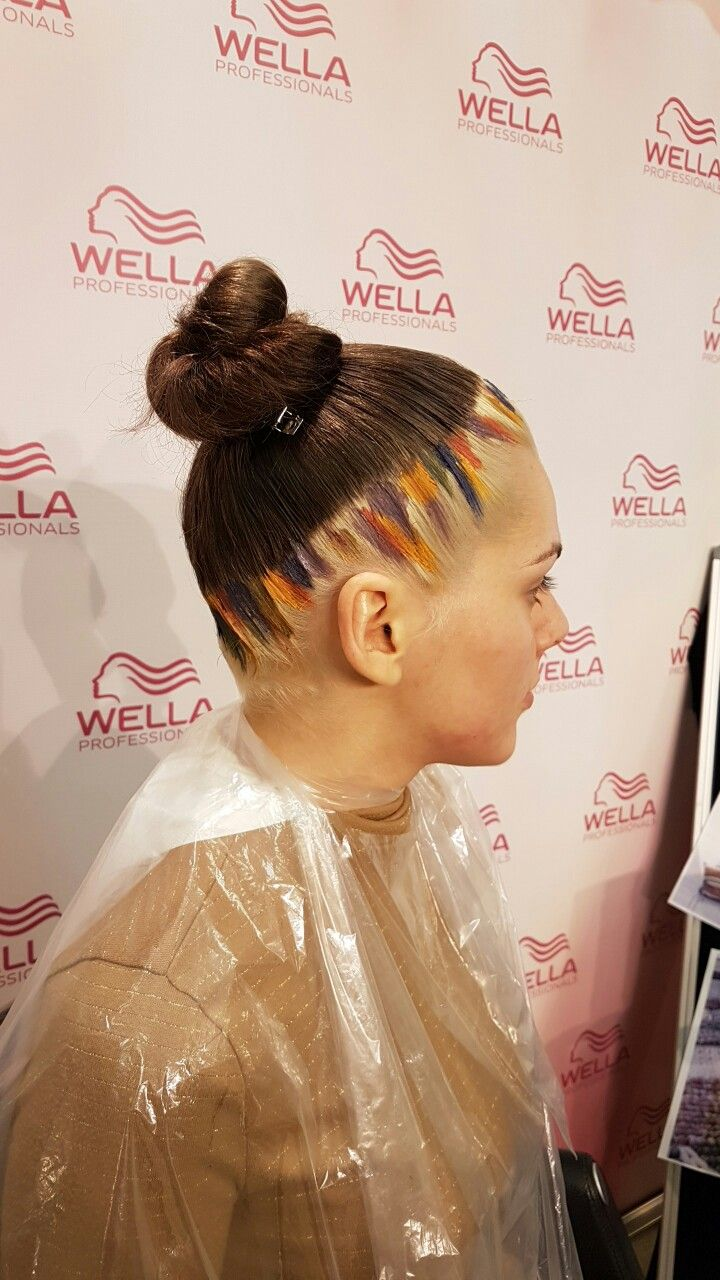 Color & concept by oana moldoveanu Hair color inspiration Avangard color concept