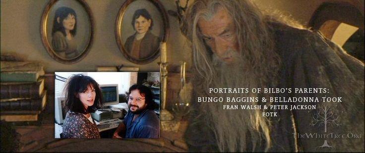 Fran Walsh (Belladonna Took) - Peter Jackson (Bungo Baggins) Portre