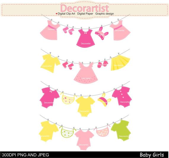 clipart hanging clothes - photo #33
