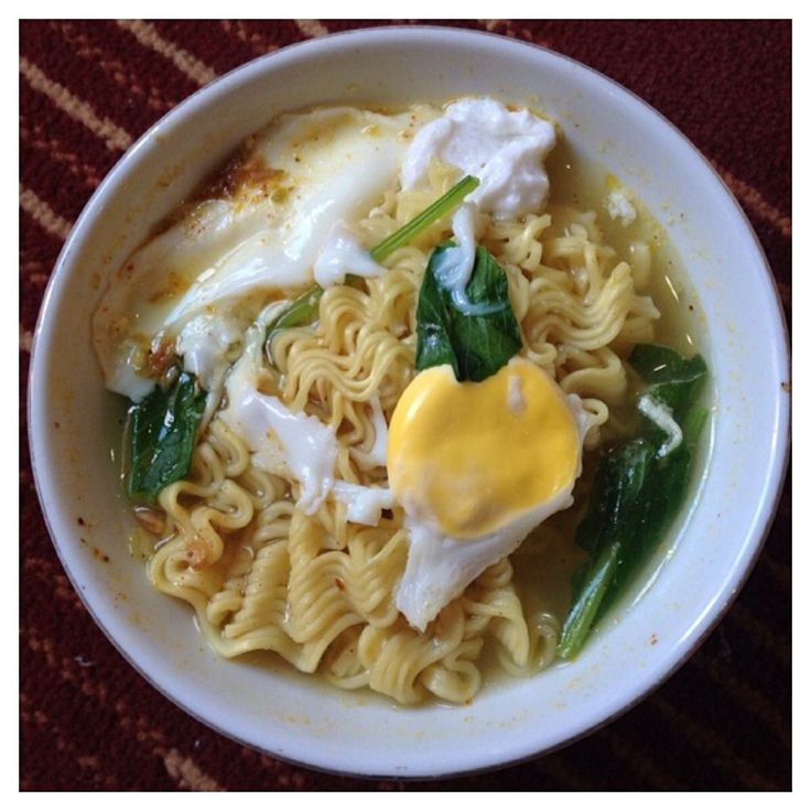 Curry flavored Indomie