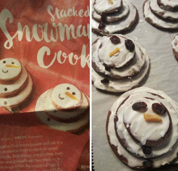 These regretful raisin guys: | 19 Christmas Baking Fails Guaranteed To Make You Laugh
