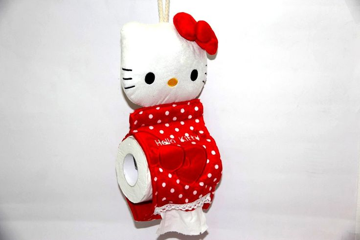 Tempat Tisu Hello Kitty – Tissue Roll Hello Kitty Red Rp 90.000