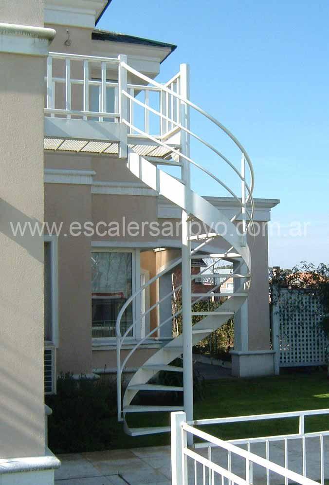 Escaleras para espacios peque os de cemento buscar con - Escaleras para exterior ...