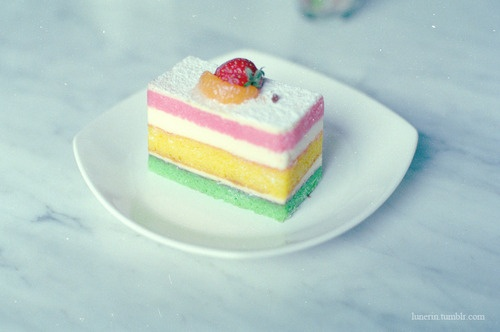 rainbow cheesecake | FOODS | Pinterest