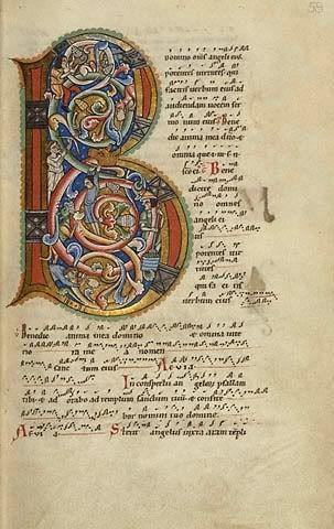 Chant Style Manuscript