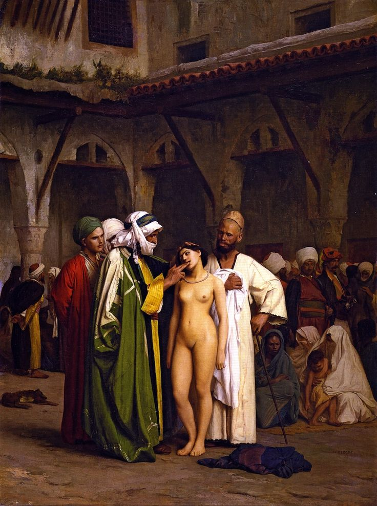 The Athenaeum - The Slave Market (Jean-Léon Gérôme - )