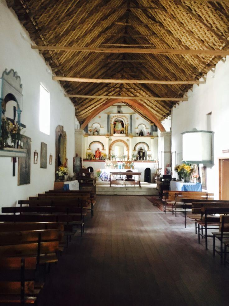 Iglesia de Socoroma, altiplano, norte de Chile