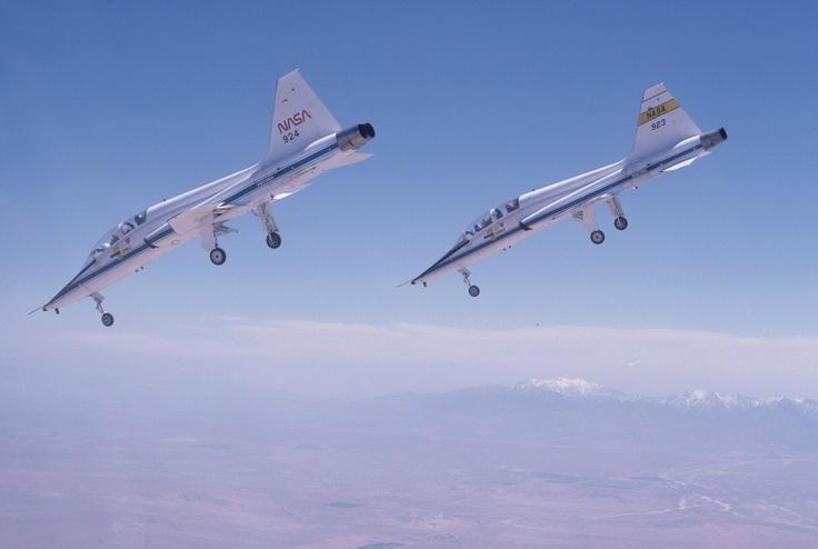 NASA's Amazing T-38 Supersonic Jet Planes