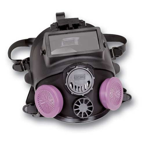 North Full Face piece Silicone Respirator with Welding Attachment... I want one!!!!