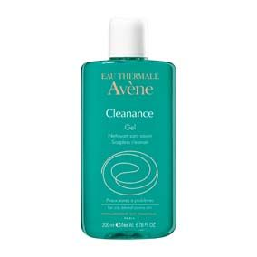 Avene gel limpiador cleanance- 200 ml (cleanance gel) Este gel limpia con suavidad, sin agredir y sin decapar la piel. Elimina el exceso de sebo y purifica la epidermis respetando su PH fisiológico.