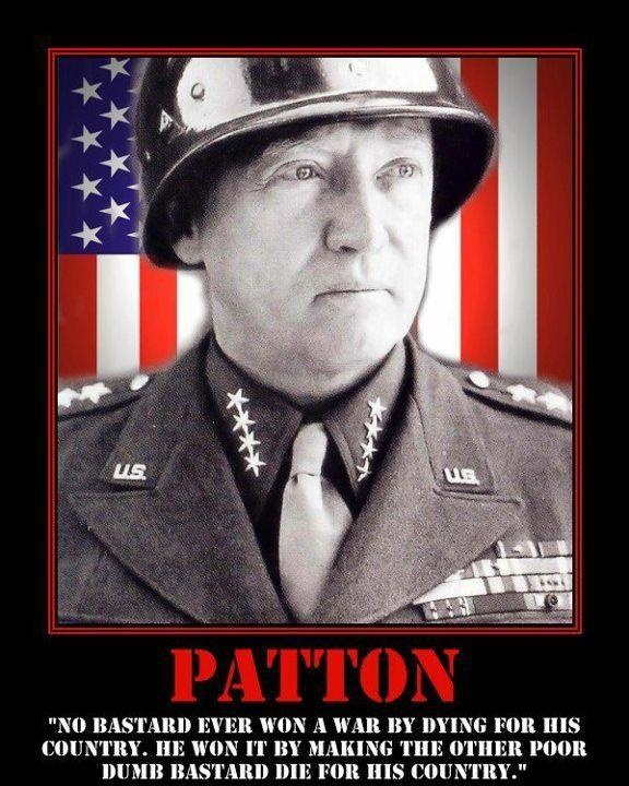 a biography of george s patton a general from world war two 11 quotes that show the awesomeness of gen george patton gen george s patton was a complicated military figure, but there can be little debate over whether he was quotable perhaps most famous for his commanding of the 7th army during world war ii, old blood and guts often gave rousing speeches to motivate, inspire, and educate his soldiers.