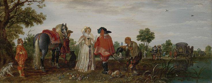 Lente, Adriaen Pietersz. van de Venne, 1625