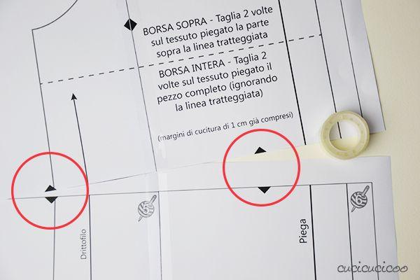 È veloce e semplice scaricare cartamodelli di cucito. Ora impara come stampare cartamodelli PDF e unire le pagine prima di iniziare a tagliare la stoffa!