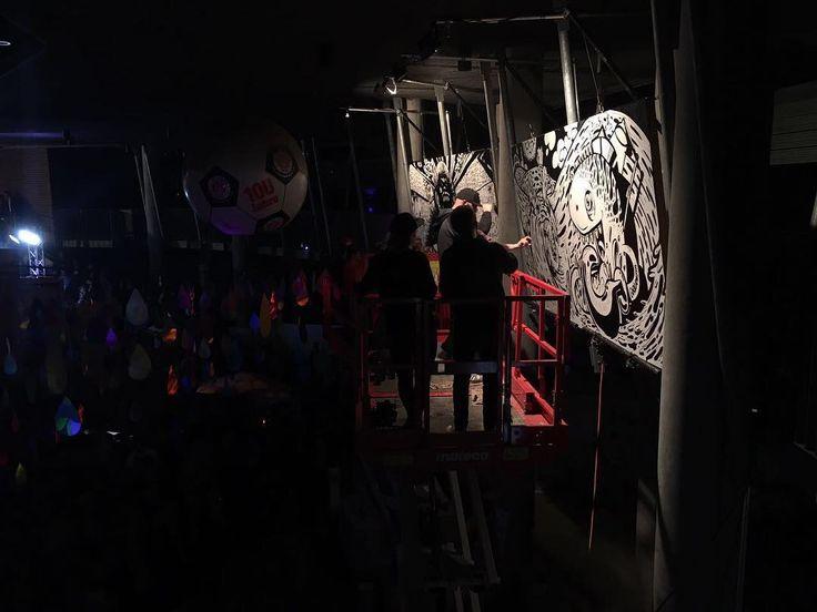 Secret Wars Hamburg: Special Edition at Millerntor Gallery // Teams: Gorillametta ./. Viva con Aqua Allstars // Friendly supported by #iriedaily // #secretwarshh #secretwars #vivaconagua #stpauli #millerntorgallery2017 #millerntor #reclaimthestreets