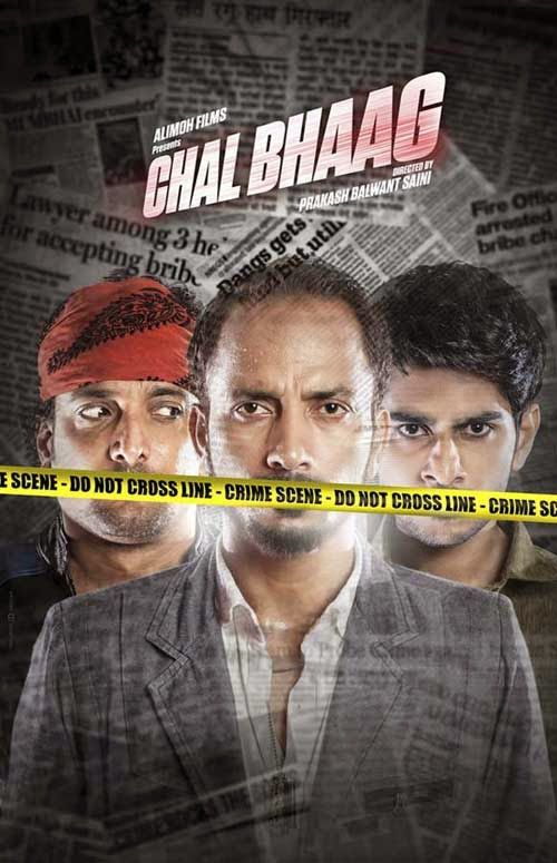 Chal Bhaag kickstarts with an MLA being murdered by three shooters. The incident coincides with the arresting of Munna, Bunty and Daler for their small time crimes.