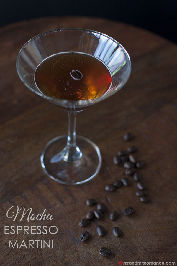 Friday Drinks – Styling You mocha espresso martini cocktail recipe