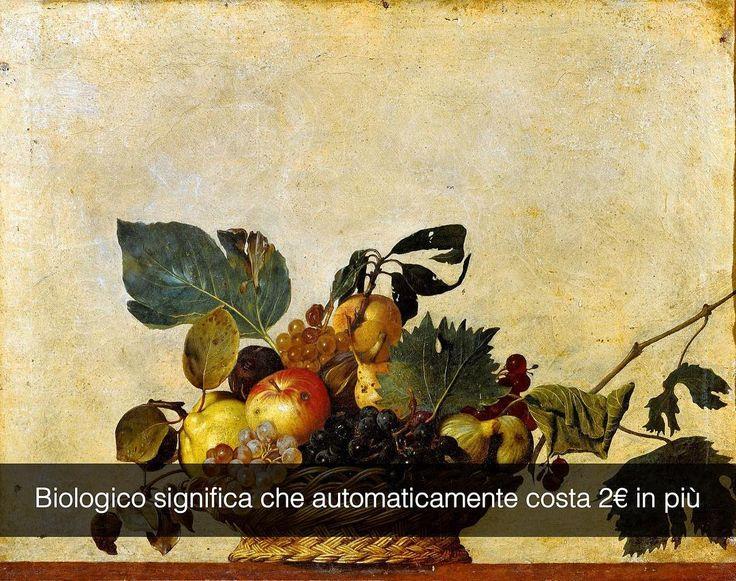 Canestra di frutta - Caravaggio (1599)