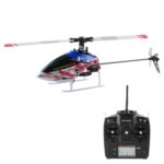 Nine Eagles 125A 2.4GHz Rechargeable 6-Channel Radio Control 3D Helicopter Airplane Toy with Remote Control