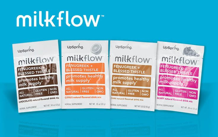 Try all 4 flavors of Milkflow for breastfeeding support only $3.49 + FREE S&H!