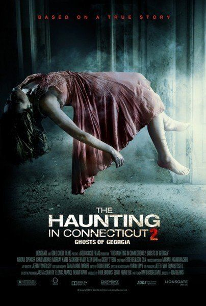 #The Haunting in Connecticut 2: Ghosts of Georgia es una película de terror de 2014, secuela de The Haunting in Connecticut por Gold Circle Films. El guión fue escrito por David Coggeshall y Tom Elkins sirvió como director, en su debut en la dirección.
