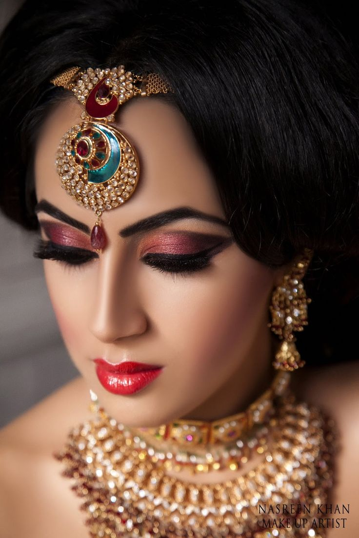116 best arabic/indian bridal hair and makeup images on pinterest