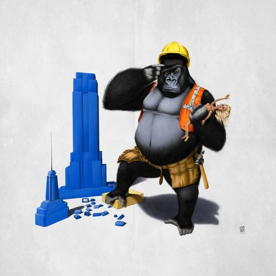 Loving this pic Building an Empire by rob_art_animals via @mipic_app art | decor | wall art | inspiration | animals | home decor | idea | humor | gifts