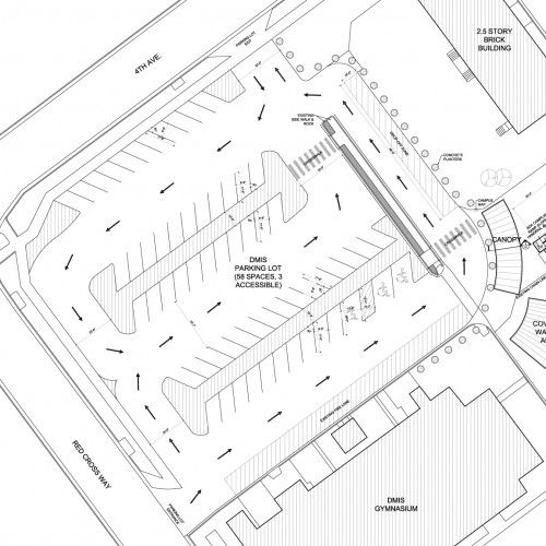 Parking Lot Plan for Denver Montclair International School