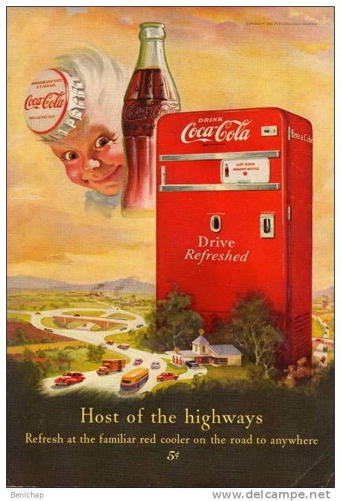 17 meilleures id es propos de coca ancien sur pinterest affiches r tro coca cola vintage et. Black Bedroom Furniture Sets. Home Design Ideas
