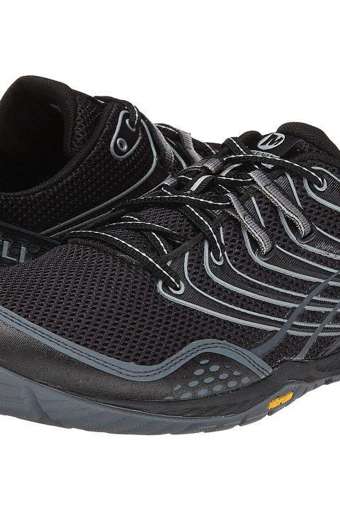 Merrell Trail Glove 3 (Black/Light Grey) Men\u0027s Shoes - Merrell, Trail