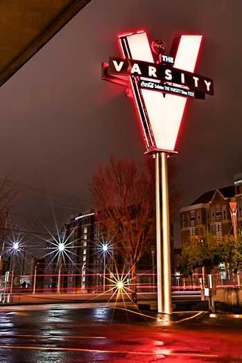 Atlanta, Georgia......there's a Varsity in Athens, GA too!