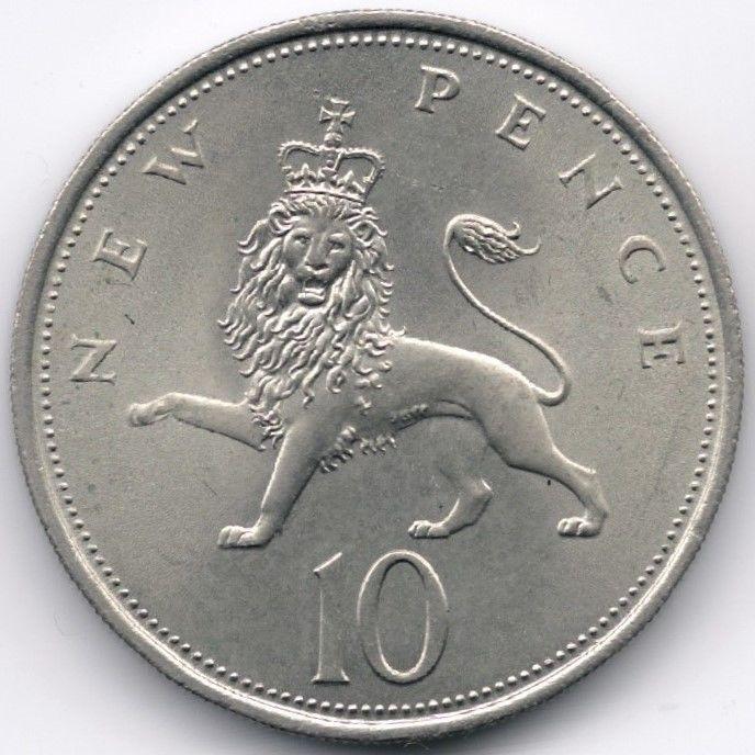 United Kingdom 10 Pence 1968 Veiling in de Decimaal,Brits,Munten,Munten & Banknota's Categorie op eBid België | 144862284