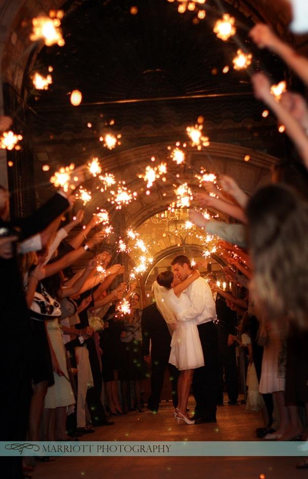 diy outdoor wedding lighting ideas%0A  wedding  reception  sparkler  outdoor  exit More wedding ideas at www