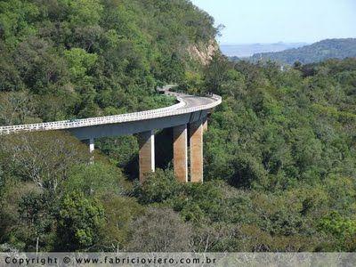 A Ponte da Garganta do Diabo - Santa Maria - RS