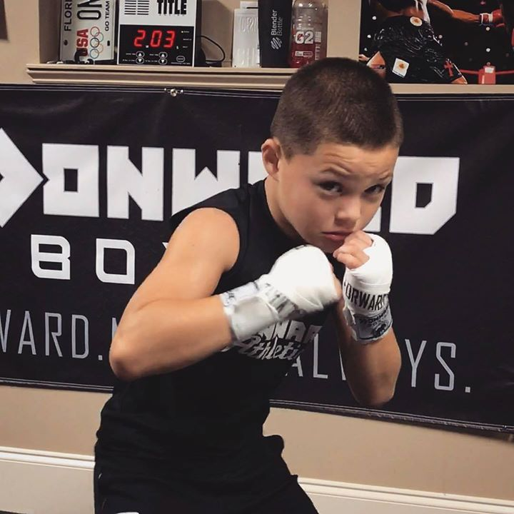 This kid has a bright futureThis kid's boxing skills are insane