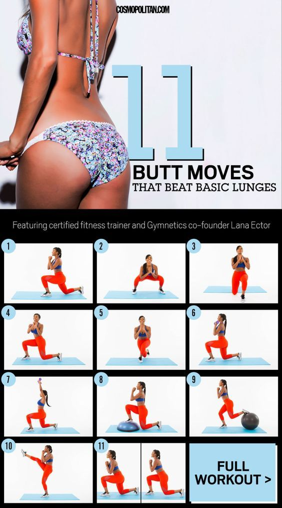 These variations will sculpt your butt from every angle.