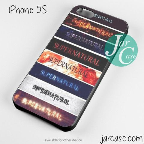 supernatural tv series logo Phone case for iPhone 4/4s/5/5c/5s/6/6 plus