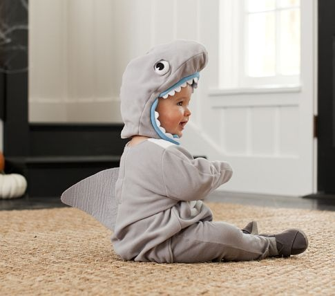 Nwt New Pottery Barn Kids Baby Shark Halloween Costume 0 6