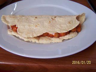 farkaselet: Szénhidrátmentes tortilla (gluténmentes, tejmentes, paleo)