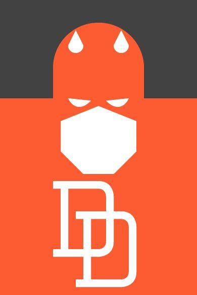 Daredevil (Illustration)    From: Graphic Design Junction