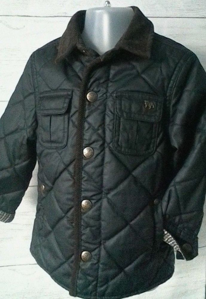 2e54a703a Junior J Heritage Edition Baby Boys Quilted Jacket Coat 18-24 months # JasperConran