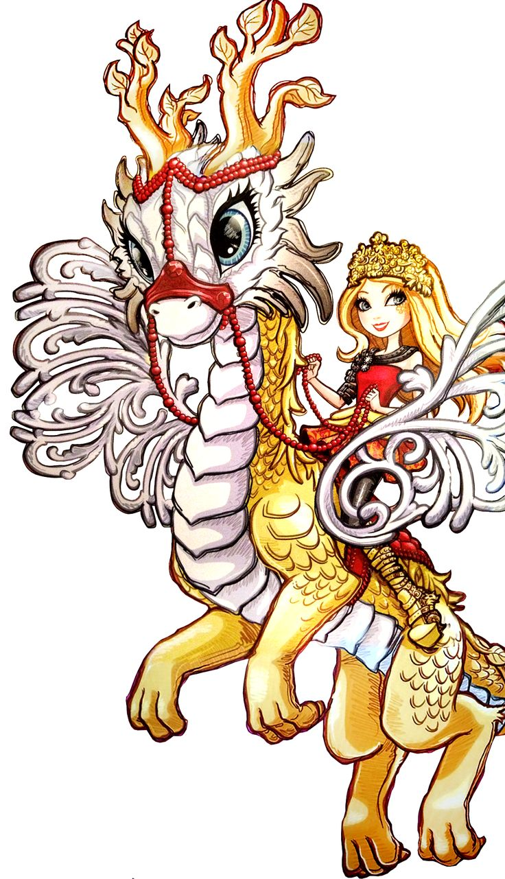 Apple White and Braeburn Dragon. Dragon Games