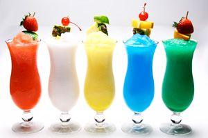 Alcoholische drankjes met weinig calorieën en suikers, gezonde alcoholische drankjes: bevroren drankjes recepten - Plazilla.com