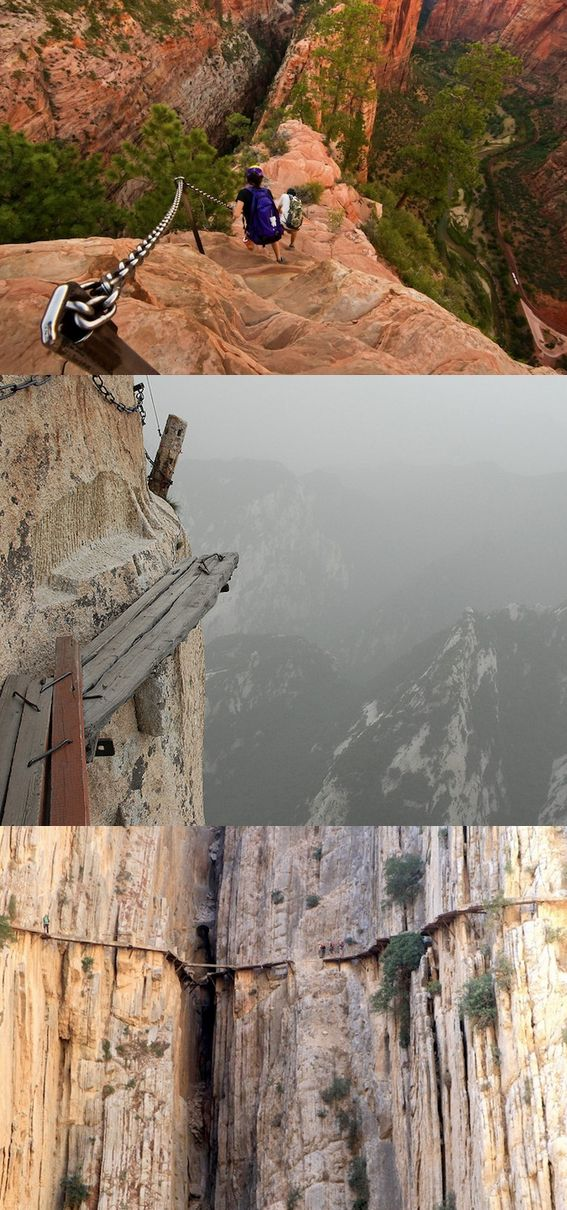 Do you dare to take on the world's most dangerous hikes?