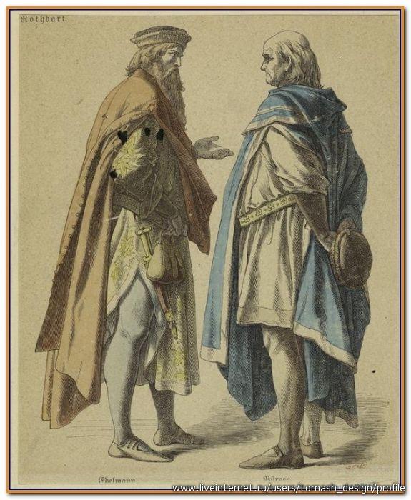 Европейский костюм 14 века в старинных иллюстрациях. ч.4. Обсуждение на LiveInternet - Российский Сервис Онлайн-Дневников
