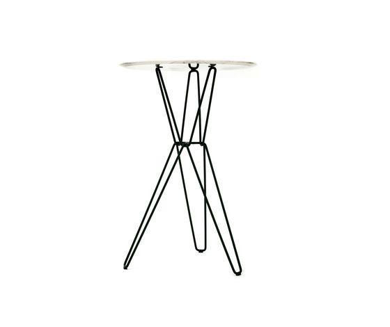 Tio Circular Bar Table Marble by Massproductions | Bar tables