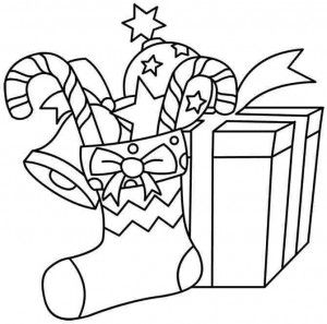 18 best images about Christmas gifts coloring page on Pinterest